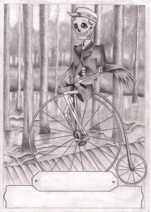 How Skeletons Tricycles, Anita Nesthus